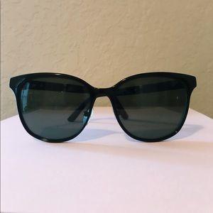 Tory Burch Subtle Black Cat Eye Sunglasses